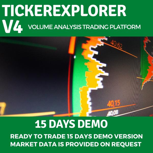 TickerExplorer Piattaforma di Trading Online con i volumi demo