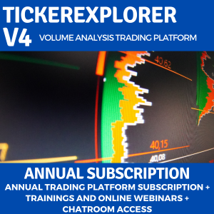 TickerExplorer Trading Platform annual subscription